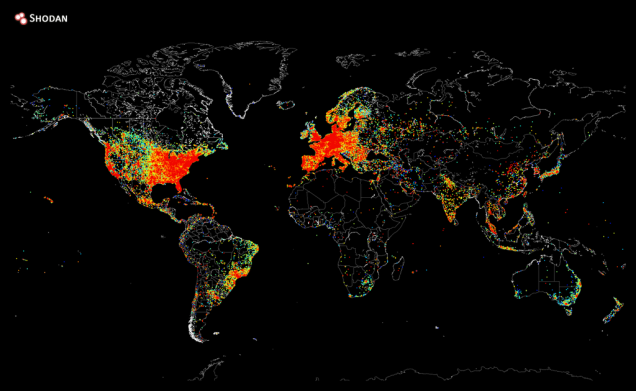 Mapa internetu