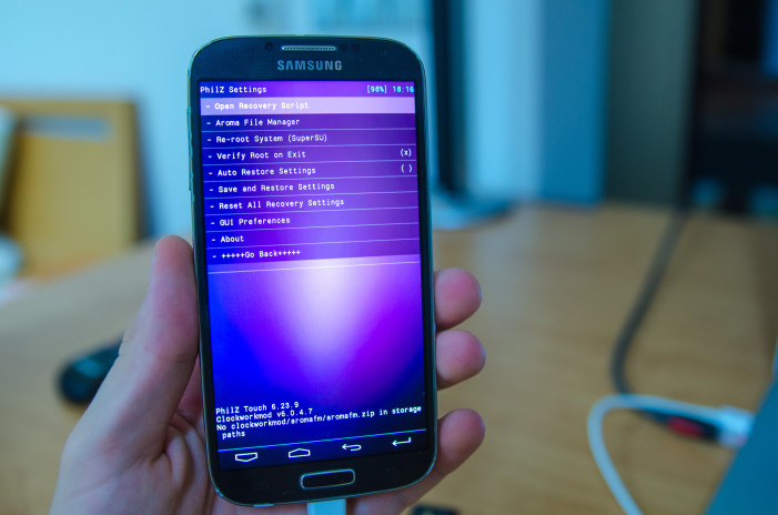 CWM/TWRP Recovery GalaxyS5Rootcom