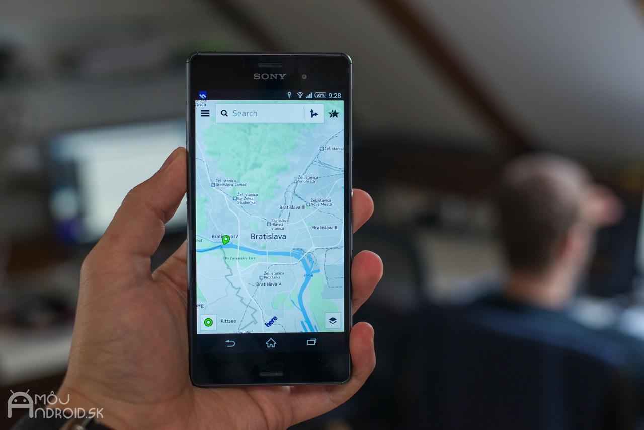 80b3e1bf38 Mapy a navigácia Nokia Here aj pre Android