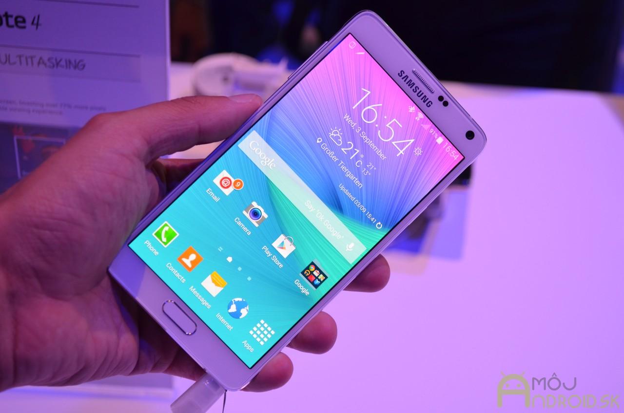 5fc738a44 Samsung Galaxy Note 4: Kráľ tabletofónov predstavený!