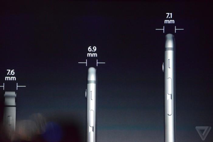 iPhone 6 hrúbka