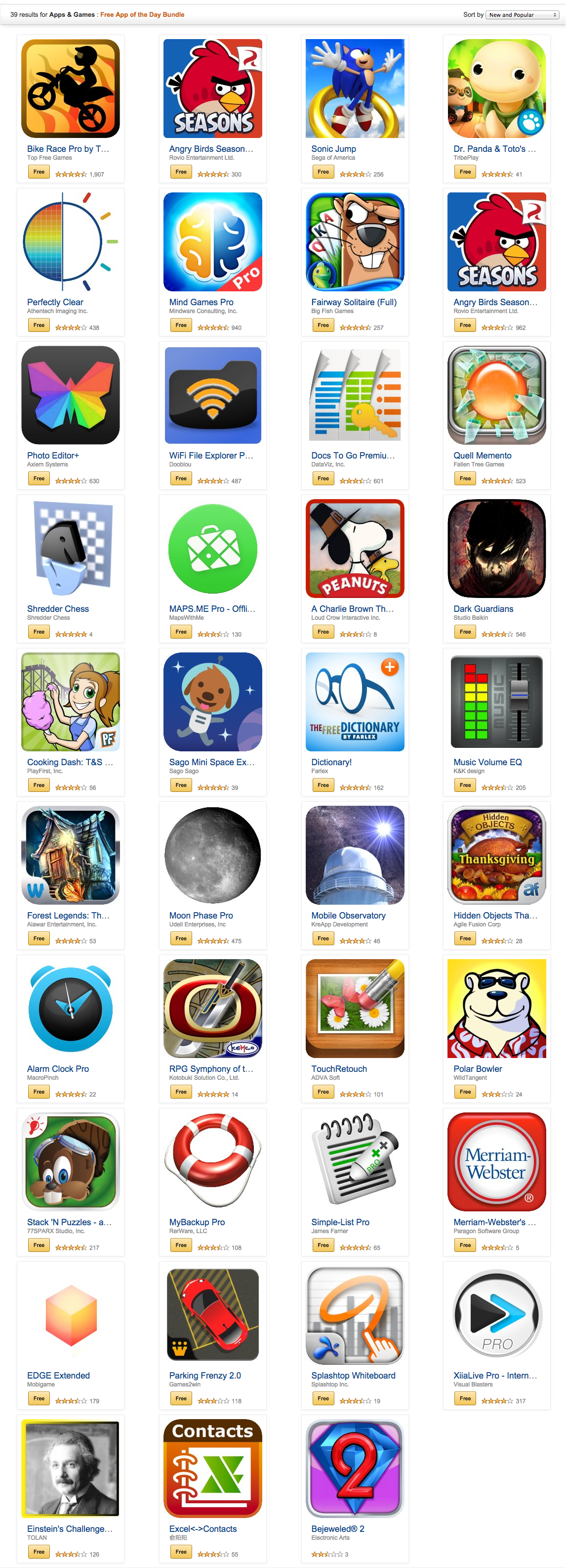 Amazon.com  Free App of the Day Bundle  Apps   Games