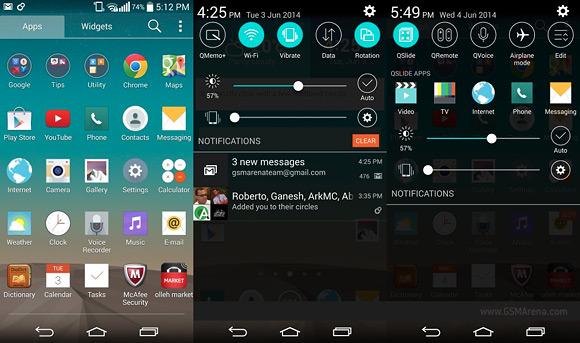LG G3 so systémom Android 4.4 KitKat