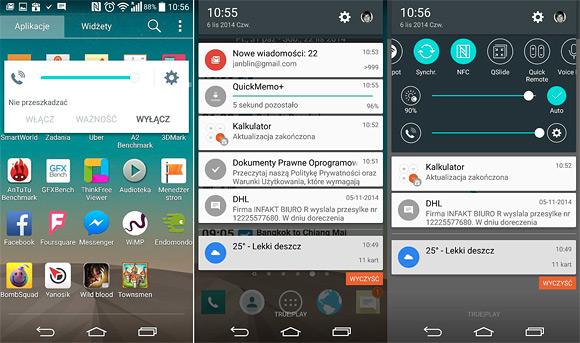 LG G3 so systémom Android 5.0 Lollipop