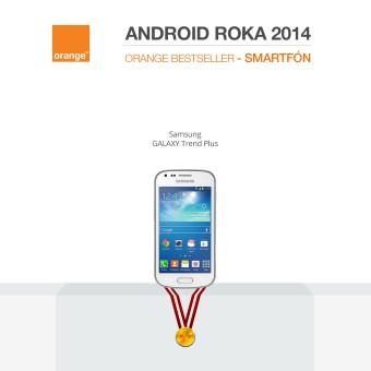 android roka 2014-orange-smartfón