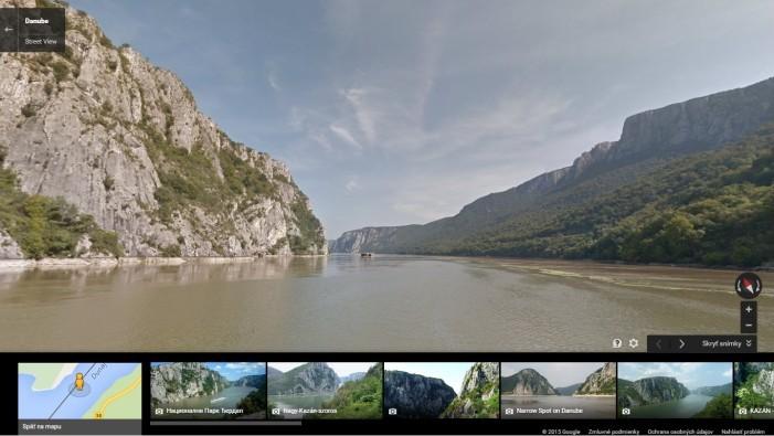 Street View_oblast Cazanele Mari_Rumunsko