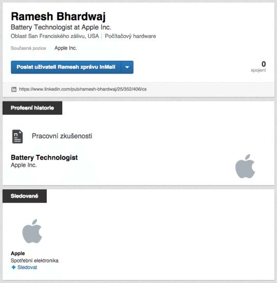 Na informácie je skúpy aj LinkedIn profil Dr. Ramesha Bhardwaja