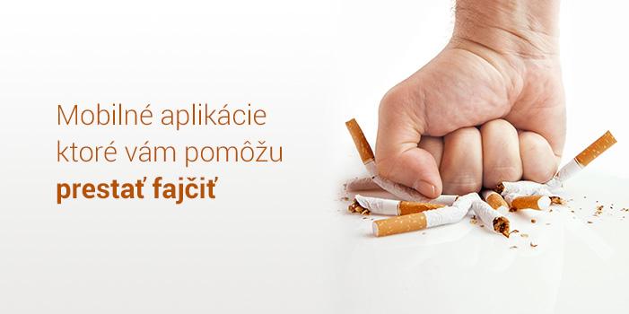 Mobilný telefón fajčenie