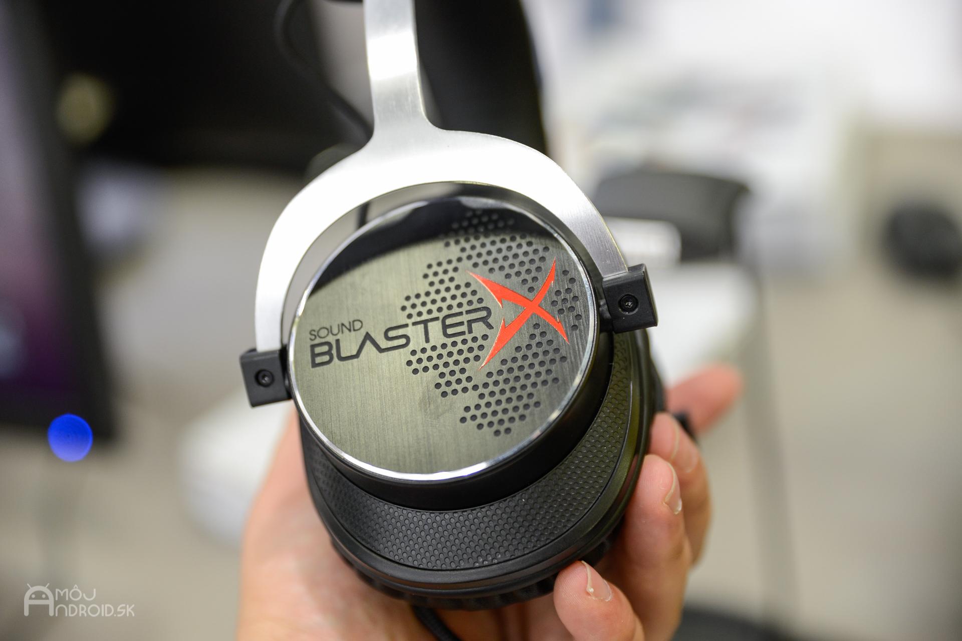 c196f456d Creative predstavil na Slovensku hernú sériu Sound BlasterX