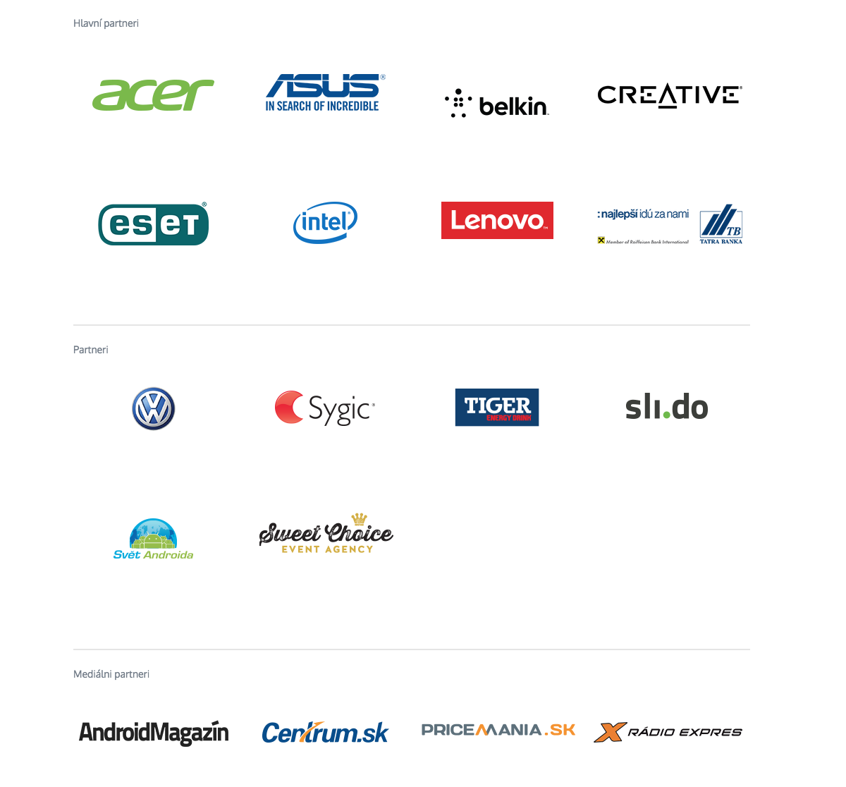 partneri orange Android Roadshow