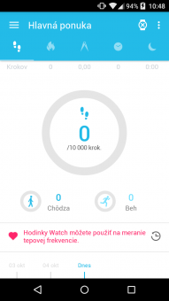 Alcatel OneTouch Watch Screenshot (1)