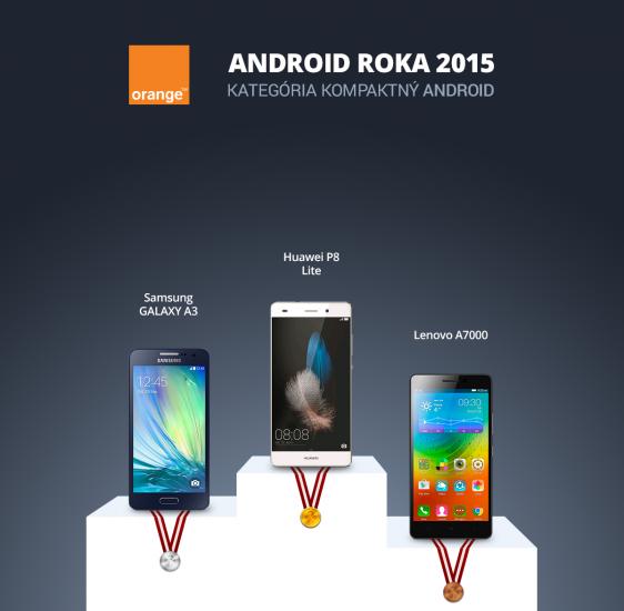 Android Roka 2015 - kompaktny android