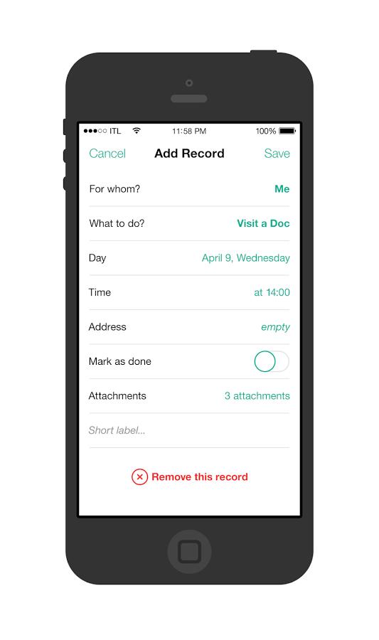 Mobilné aplikácie pre dátumové údaje