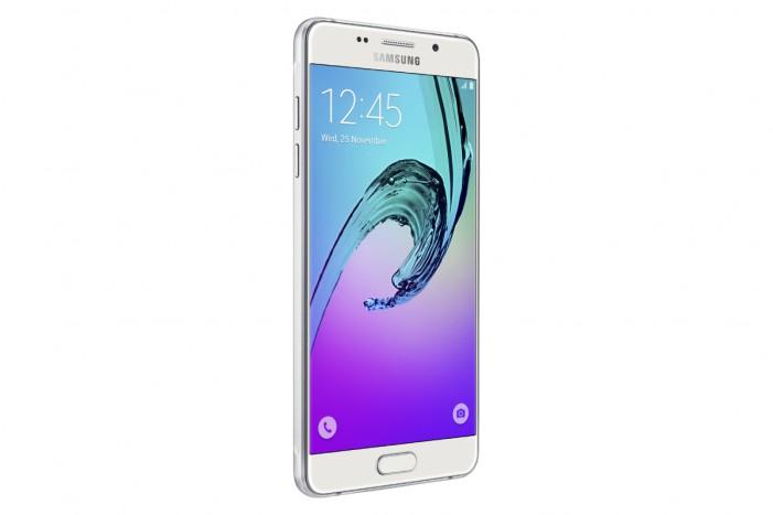 Pohľad spredu na Samsung Galaxy A (2016