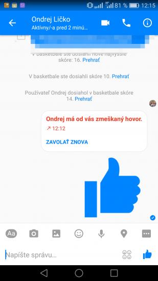 Facebook Messenger Screen 13