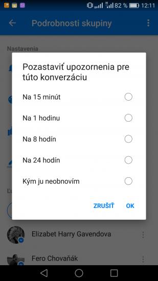 Facebook Messenger Screen 5