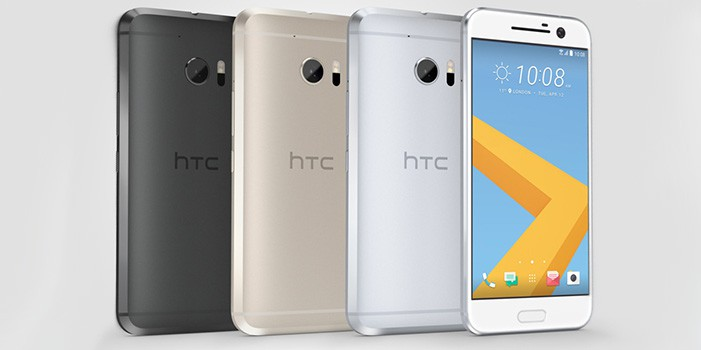 HTC 10_GroupShot_Silver Front
