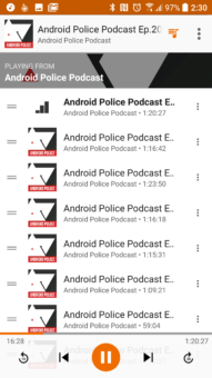 Hudba Google Play Podcasty 3