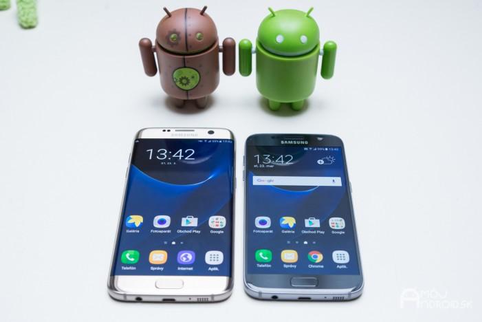 Porovnanie Samsung Galaxy S7 edge vs. Samsung Galaxy S7