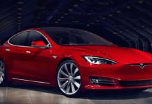 Tesla Model S aktualizacia