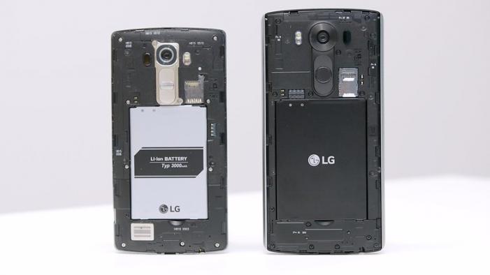 LG G4 vs LG V10   Zdroj: AndroidPit.com