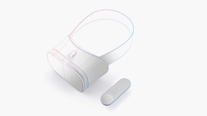 Daydream koncept headset