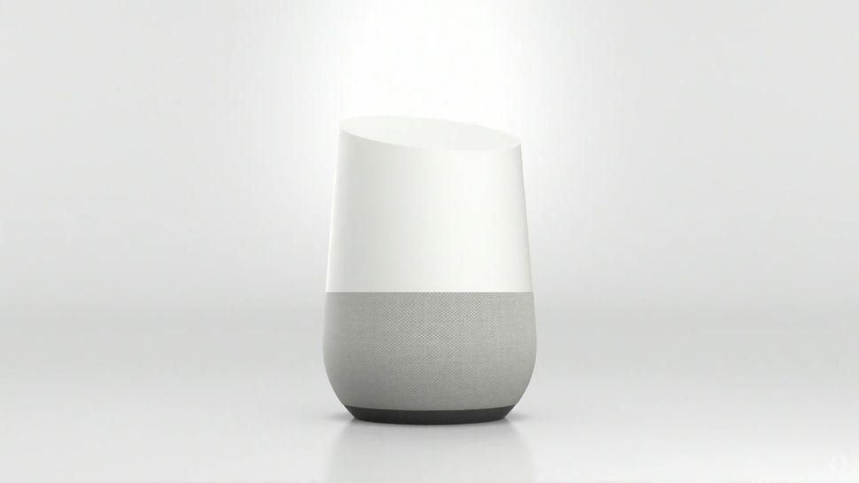 Google Home biely