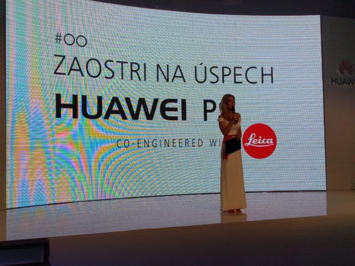 Huawei P9: predstavanie na Slovensku