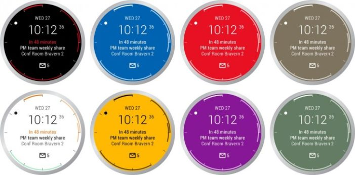Outlook Android Wear 1