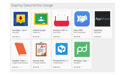 Doplnky Dokumentov Google cover