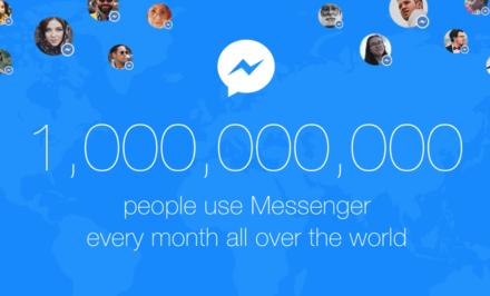 Facebook Messenger miliarda cover