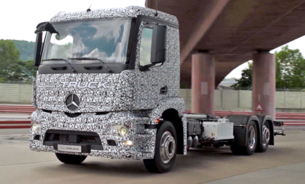 Mercedes-Benz Urban eTruck cover