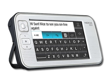 Nokia N800 Internet Tablet