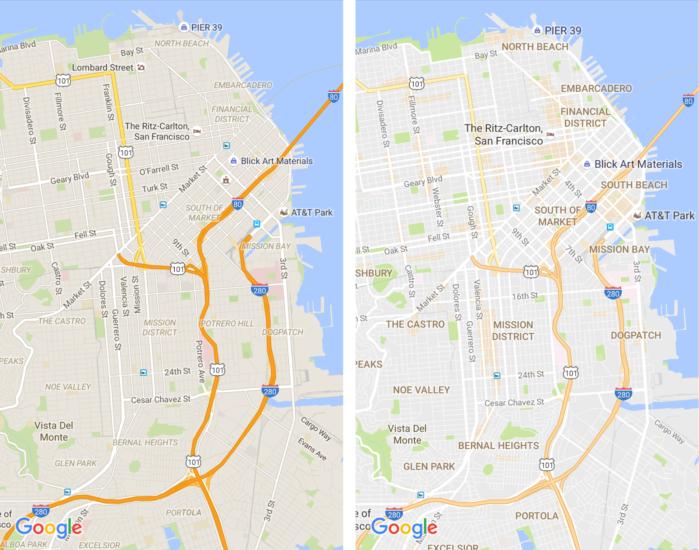 google-mapy-novy-vzhlad