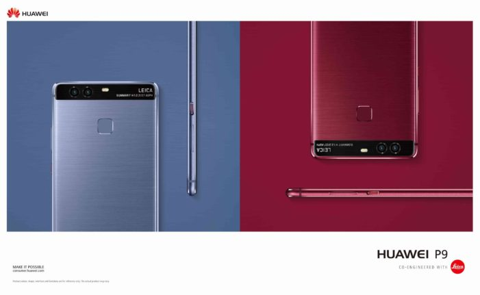 huawei-P9-red-blue