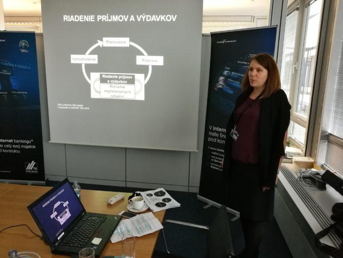 Pamela Babuščáková, Tatra banka