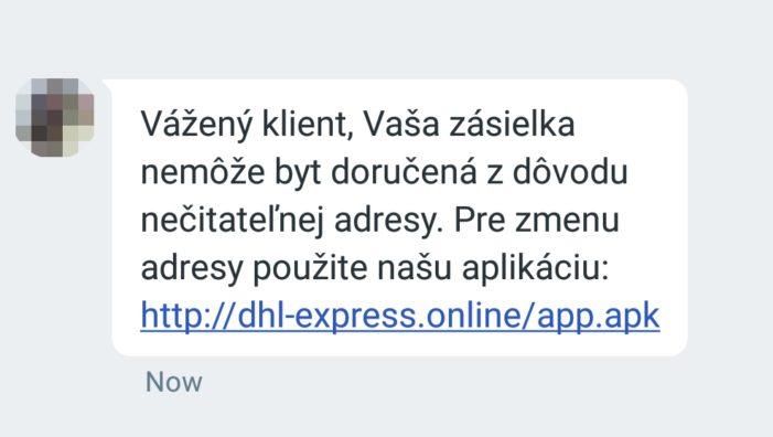 ESET_falosnaSMSzDHL