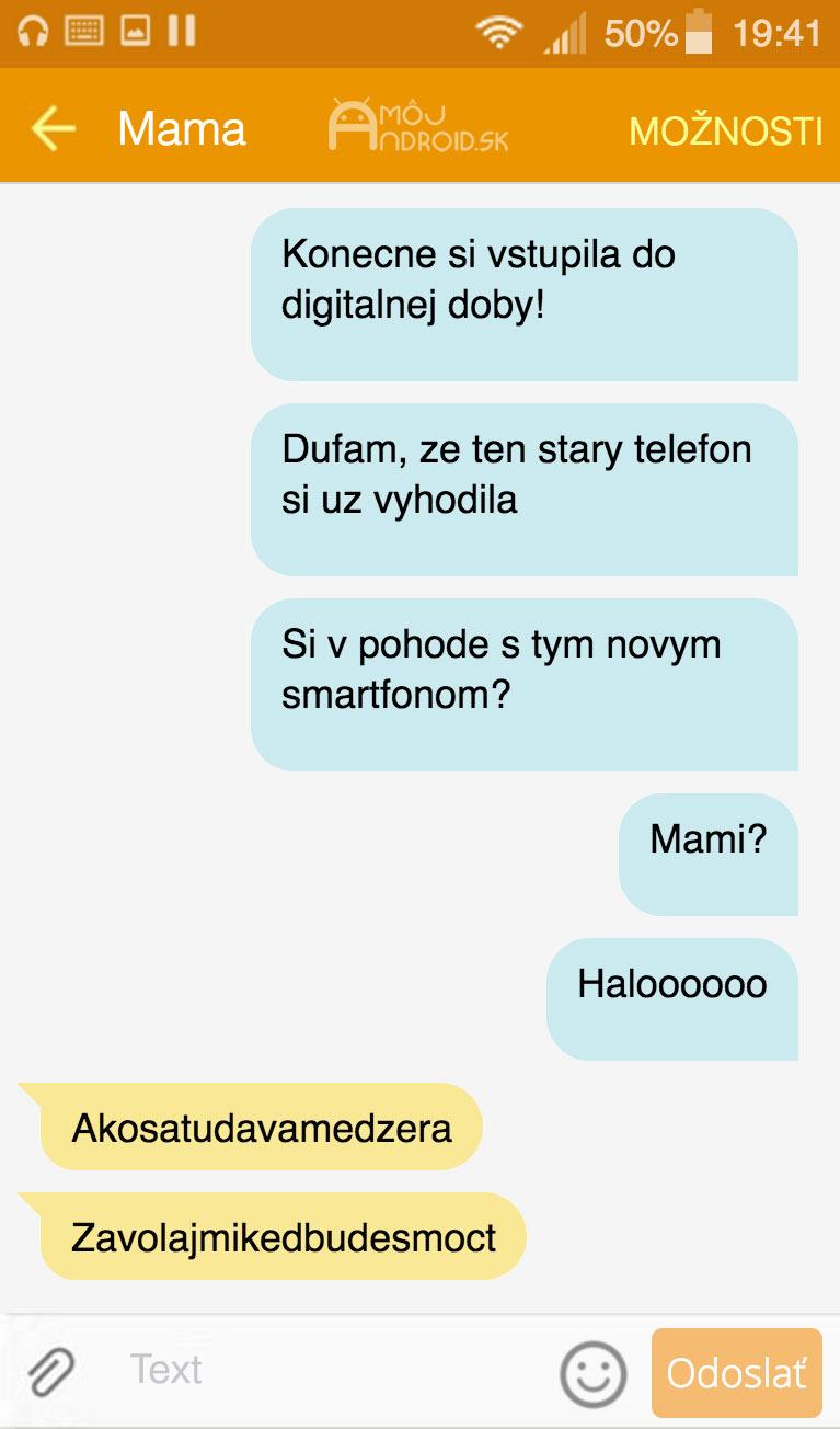 SMS-mama-medzera