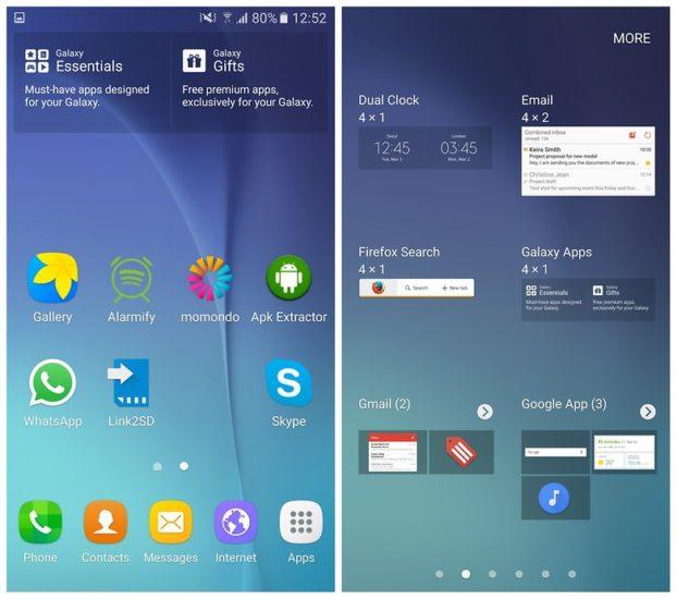 Samsung Google lista 2