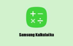 Samsung Kalkulacka cover