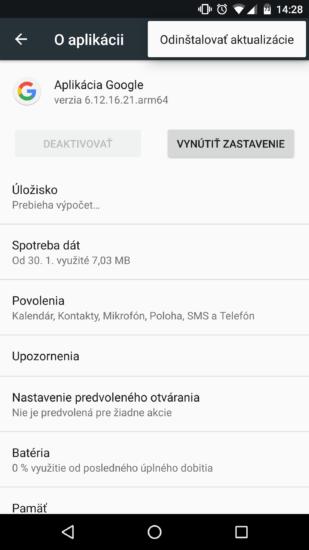 google-aplikacia-screenshot