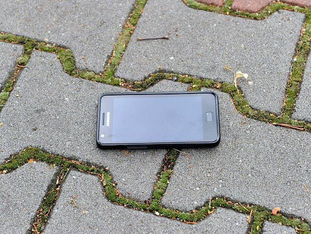 stratený telefón