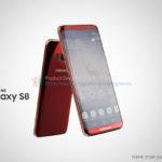 Samsung Galaxy S8 render - 4