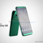 Samsung Galaxy S8 render - 2