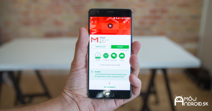 Gmail prináša podporu prispôsobenia svojich gest