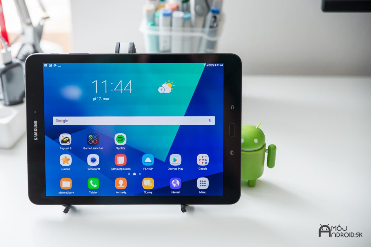 Samsung Galaxy Tab S3 displej