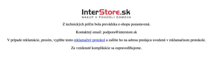Interstore.sk
