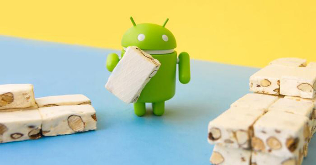 Android Nougat staršie androidy
