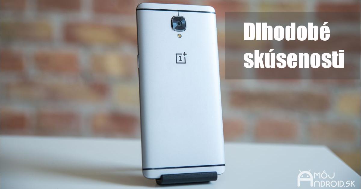 OnePlus 3  Dlhodobé skúsenosti s vynikajúcim výsledkom fe41e8912bb