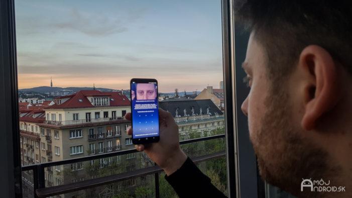 Samsung Galaxy S8+ skener duhovky
